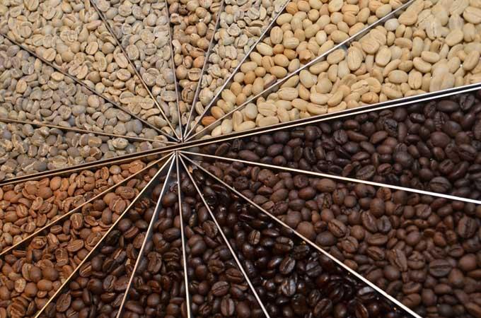 Các mức độ rang cà phê và hương vị đặc trưng