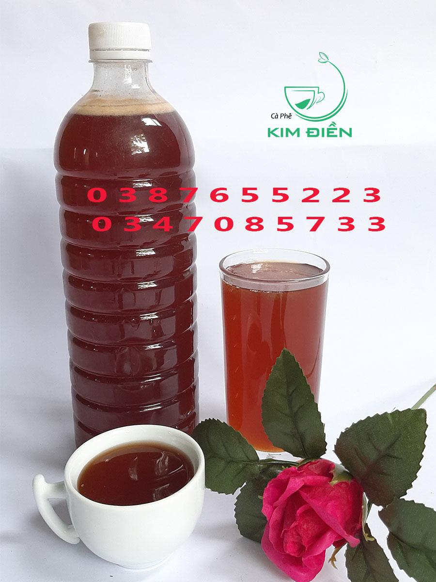 mật ong cà phê kim điền